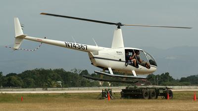 N74367 - Robinson R44 Clipper II - Private