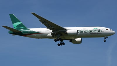 CS-TFM - Boeing 777-212(ER) - Biman Bangladesh Airlines (EuroAtlantic Airways)