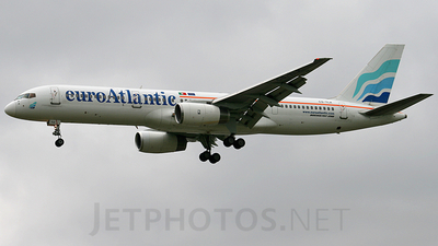 CS-TLX - Boeing 757-2G5 - EuroAtlantic Airways