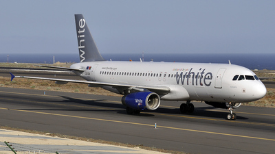 CS-TQK - Airbus A320-232 - White Airways