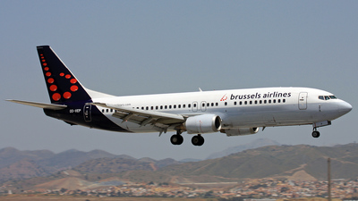 OO-VEP - Boeing 737-43Q - Brussels Airlines