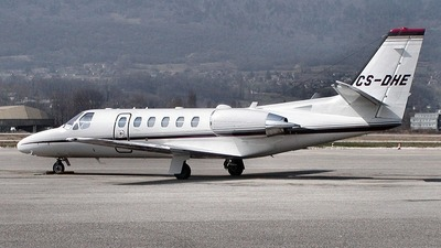CS-DHE - Cessna 550B Citation Bravo - NetJets Europe
