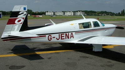 A picture of GJENA - Mooney M20J - [241304] - © Edwin Vanoverschelde