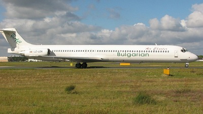 LZ-LDX - McDonnell Douglas MD-83 - Bulgarian Air Charter (BAC)