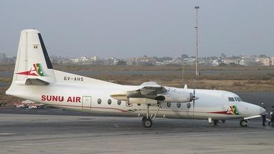 6V-AHS - Fokker F27-500 Friendship - Sunu Air