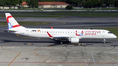 PT-SDH - Embraer 190-200LR - Universal Airlines