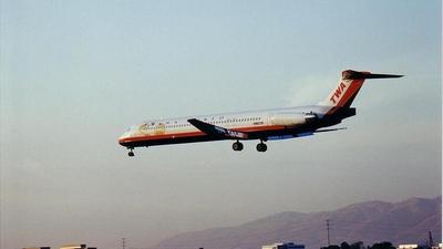 N982TW - McDonnell Douglas MD-83 - Trans World Airlines (TWA)