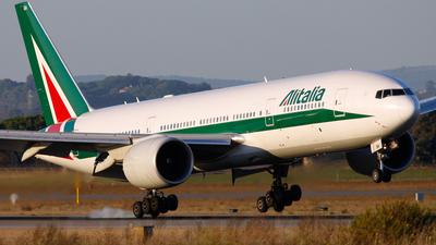 I-DISA - Boeing 777-243(ER) - Alitalia