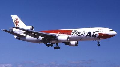 G-GCAL - McDonnell Douglas DC-10-10 - Cal Air