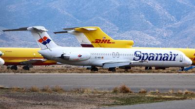 EC-HOV - McDonnell Douglas MD-82 - Spanair