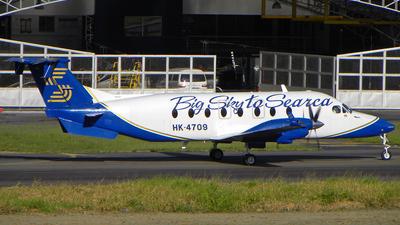 HK-4709 - Beech 1900D - Searca - Servicio Aéreo de Capurgana
