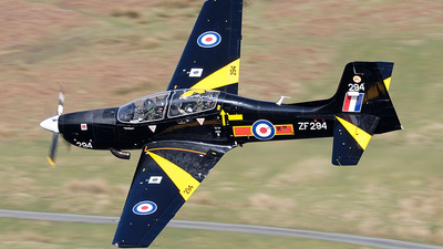 ZF294 - Short Tucano T.1 - United Kingdom - Royal Air Force (RAF)