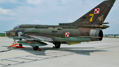 7308 - Sukhoi Su-22M4 Fitter K - Poland - Air Force