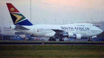 ZS-SPB - Boeing 747SP-44 - South African Airways