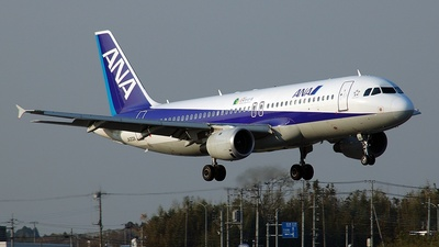 JA202A - Airbus A320-211 - All Nippon Airways (ANA)