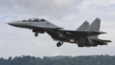 M52-11 - Sukhoi Su-30MKM - Malaysia - Air Force