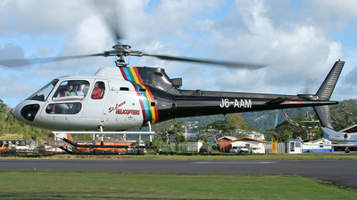 J6-AAM - Aérospatiale AS 350B Ecureuil - St Lucia Helicopters