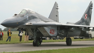 4121 - Mikoyan-Gurevich MiG-29G Fulcrum - Poland - Air Force