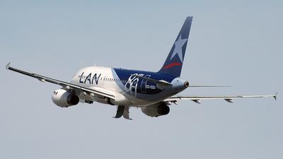 CC-CZJ - Airbus A318-121 - LAN Airlines