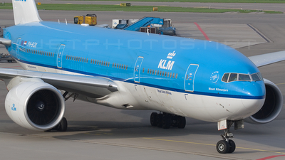 PH-BQK - Boeing 777-206(ER) - KLM Royal Dutch Airlines
