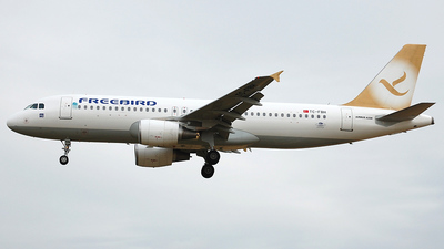 TC-FBH - Airbus A320-214 - Freebird Airlines