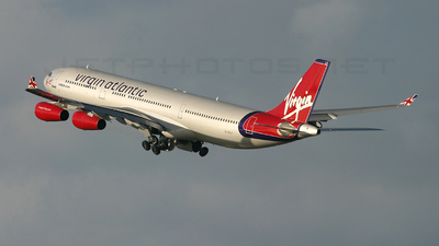 G-VFLY - Airbus A340-311 - Virgin Atlantic Airways