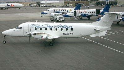 N237YV - Beech 1900D - Big Sky Airlines