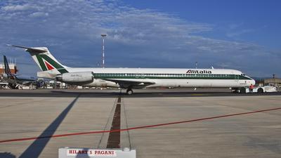 I-DANU - McDonnell Douglas MD-82 - Alitalia