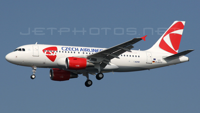 D-AVYY - Airbus A319-112 - CSA Czech Airlines