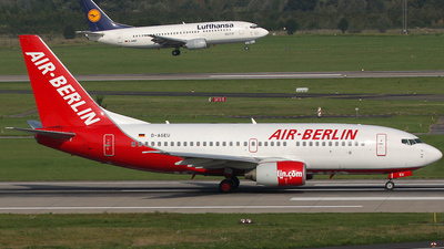 D-AGEU - Boeing 737-75B - Air Berlin (Germania)