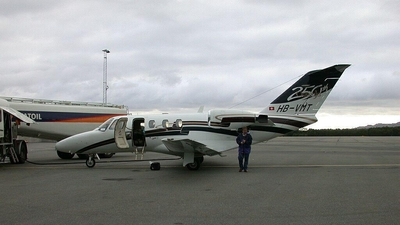 HB-VMT - Cessna 525 CitationJet 1 - Private