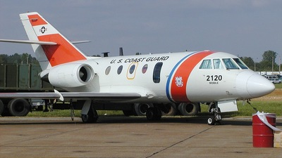 2120 - Dassault HU-25A Guardian - United States - US Coast Guard (USCG)