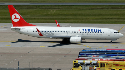 TC-JFJ - Boeing 737-8F2 - Turkish Airlines