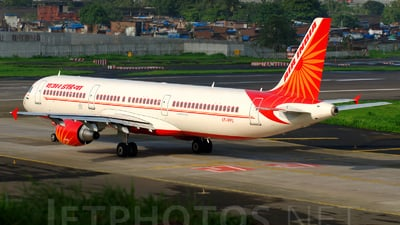 VT-PPU - Airbus A321-211 - Air India