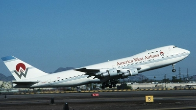 N534AW - Boeing 747-206B - America West Airlines