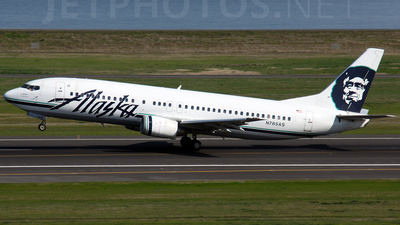 N785AS - Boeing 737-4Q8 - Alaska Airlines