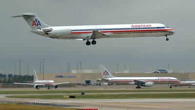 N266AA - McDonnell Douglas MD-82 - American Airlines