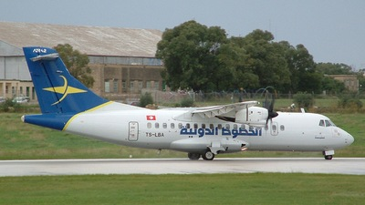 TS-LBA - ATR 42-300 - Tuninter