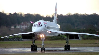 G-BOAF - Aérospatiale/British Aircraft Corporation Concorde - British Airways