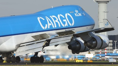 PH-CKC - Boeing 747-406ERF - KLM Royal Dutch Airlines