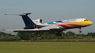 LZ-HMW - Tupolev Tu-154M - BH Air