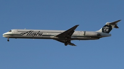N958AS - McDonnell Douglas MD-83 - Alaska Airlines
