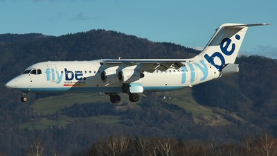 G-JEBA - British Aerospace BAe 146-300 - Flybe