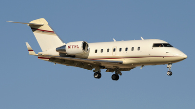 N777YG - Bombardier CL-600-2B16 Challenger 601-3R - Private