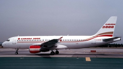 C-GVXB - Airbus A320-211 - Canada 3000 Airlines