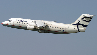SX-DVD - British Aerospace Avro RJ100 - Aegean Airlines