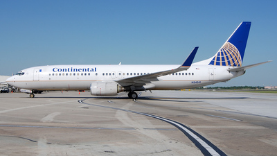N54241 - Boeing 737-824 - Continental Airlines