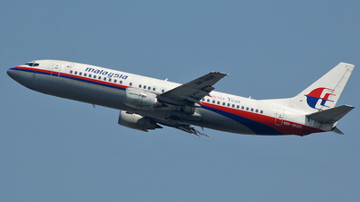 9M-MQB - Boeing 737-4H6 - Malaysia Airlines