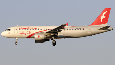 A6-ABA - Airbus A320-214 - Air Arabia