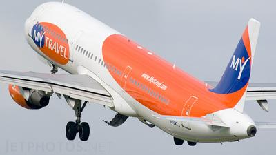 G-SMTJ - Airbus A321-211 - MyTravel Airways